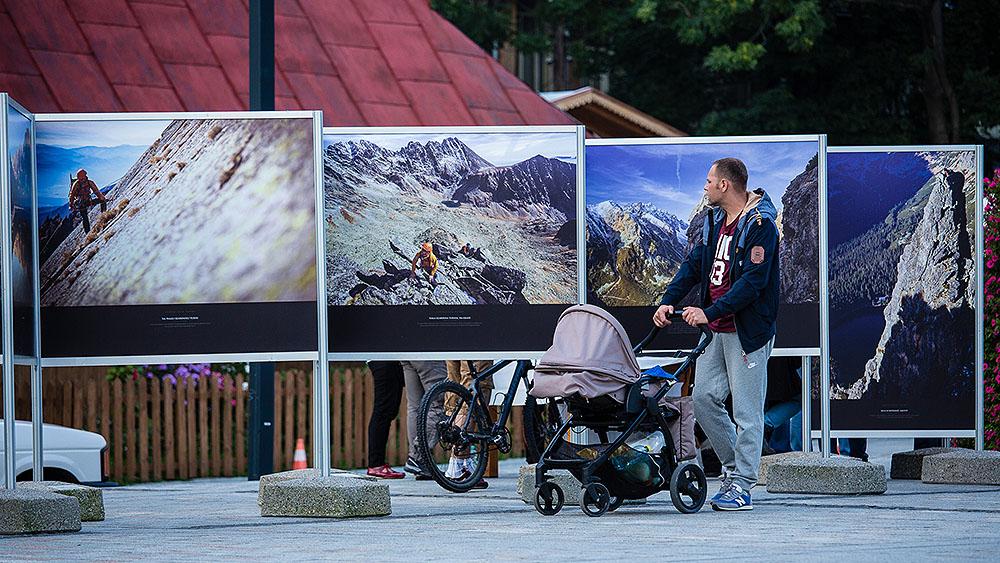 Wystawa była prezentowana podczas Spotkań z Filmem Górskim w Zakopanem, wrzesień 2014