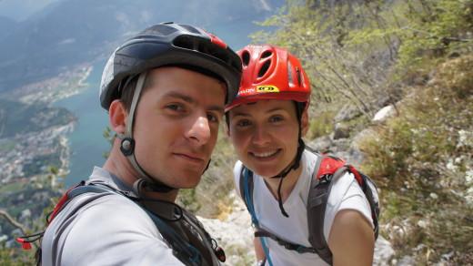Agnieszka Korpal i śp. Tomek Kowalski (fot. arch. Agnieszka Korpal)