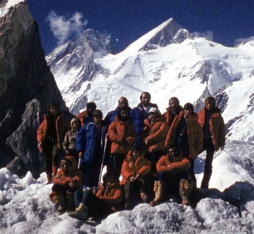 Uczestnicy wyprawy na Gasherbrumy (fot. arch. Anna Okopińska)