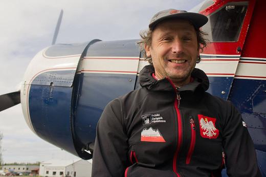Janusz Gołąb podczas wyprawy na Alaskę (fot. arch. Janusz Gołąb)