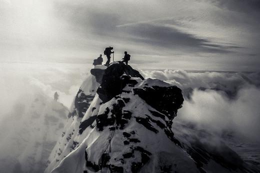 Na szczycie Glossglocknera (fot. Julita Chudko)