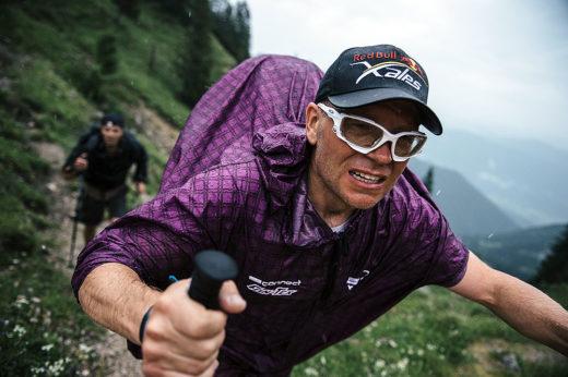 Pawel Faron podczas Red Bull X-Alps w 2015 (fot. arch. Red Bull X-Alps)