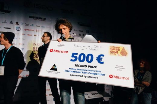 "Secound Prize - ""Riders of the Storm"", director Franz Walter  (fot. Adam Kokot / KFG)"